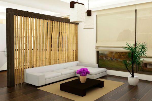 Бамбуковые перегородки 6 фото