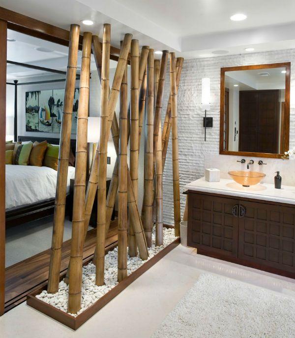 Бамбуковые перегородки 7 фото