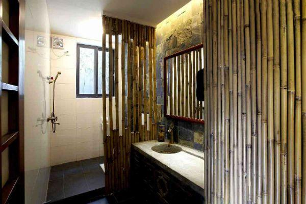 Бамбуковые перегородки 8 фото