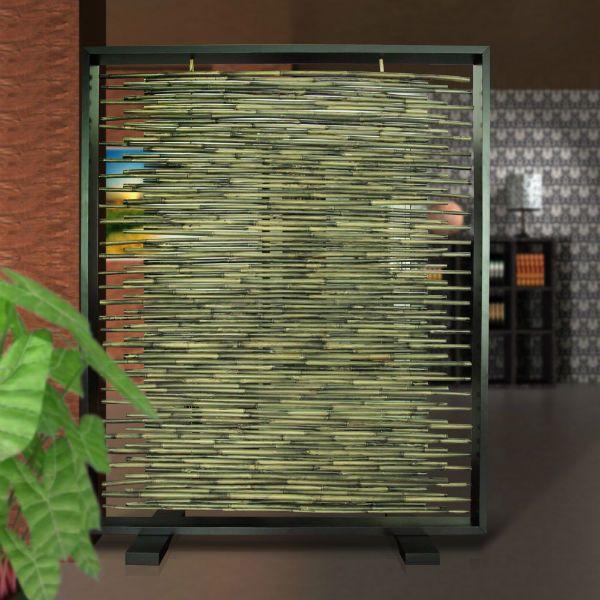 Бамбуковые перегородки 9 фото