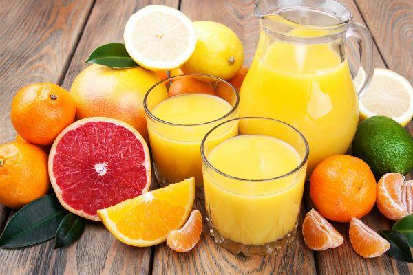 Цитрусовый сок с чесноком фото