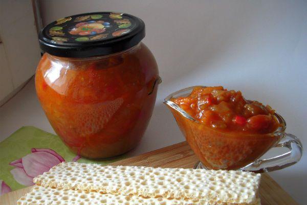 Икра из зеленых томатов фото