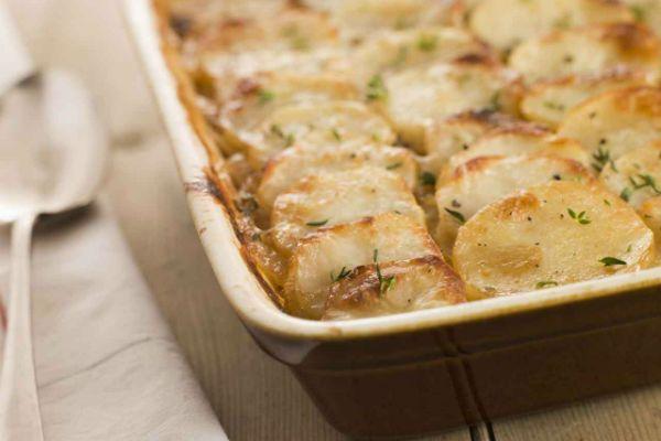 Картофель со сливками фото