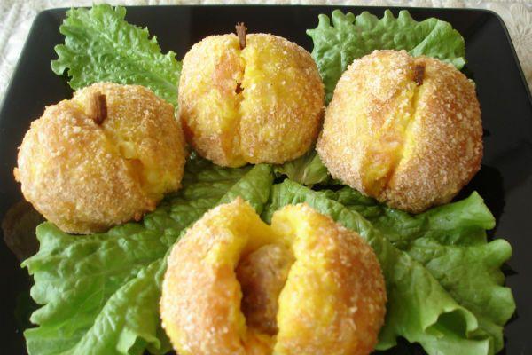 Картофельные персики фото