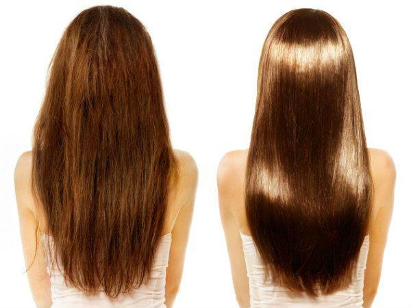 Кератиновое выпрямление волос 11 фото