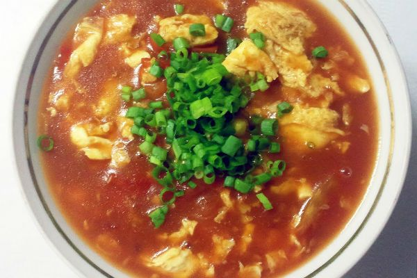 Крем-суп с яйцом фото