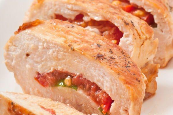 Куриное филе с базиликом фото