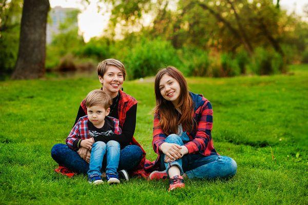 Мама и дети фото