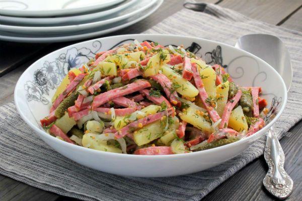 Немецкий салат фото