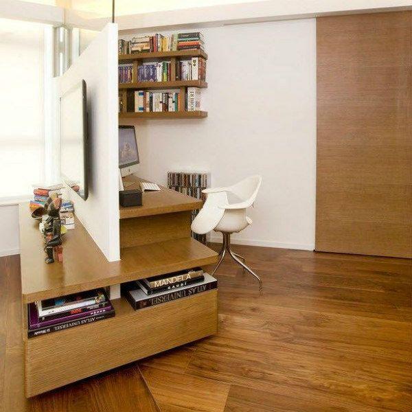 Мебельная перегородка 19 фото