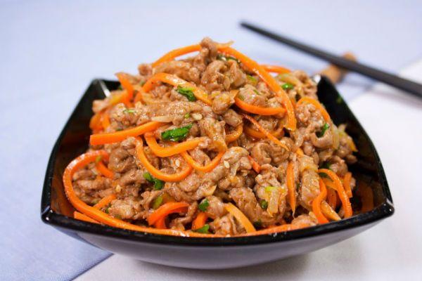 Куриные желудки по-корейски фото