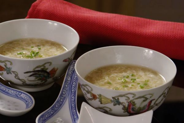Румынский суп с луком фото