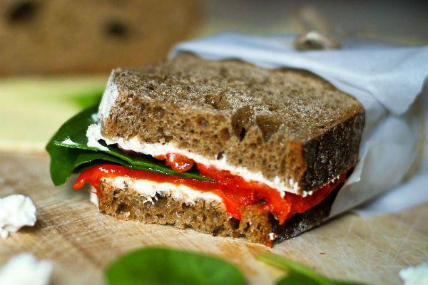 Сэндвич с болгарским перцем фото