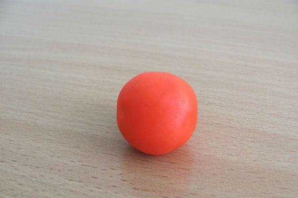 Скатайте шарик фото