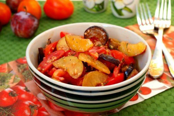 Сливовый салат фото