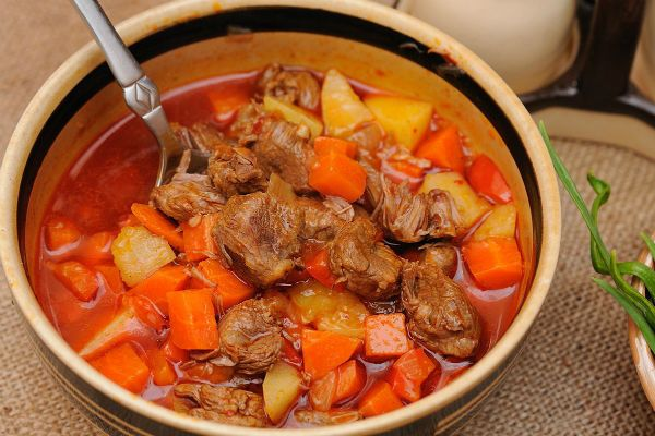 Суп по-венгерски фото