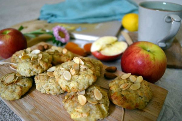 Яблочное печенье фото