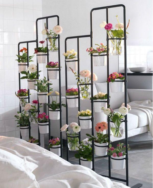 Перегородки из живых цветов 13 фото