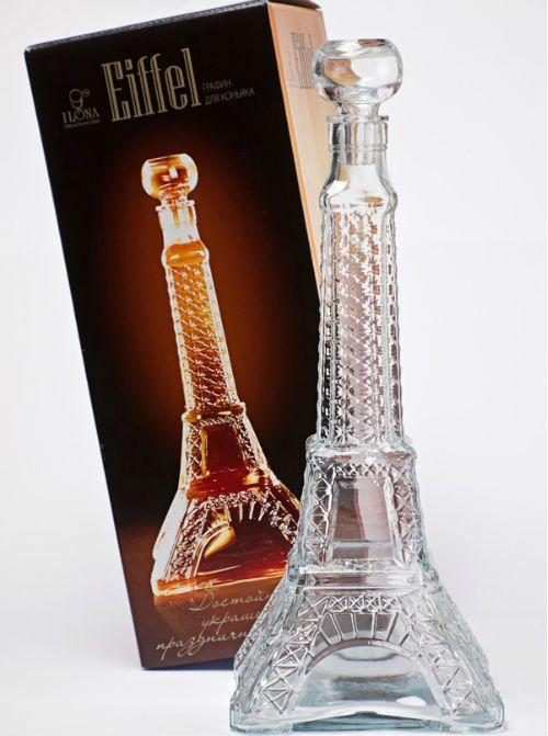 Бутылка в форме Эйфелевой башни фото