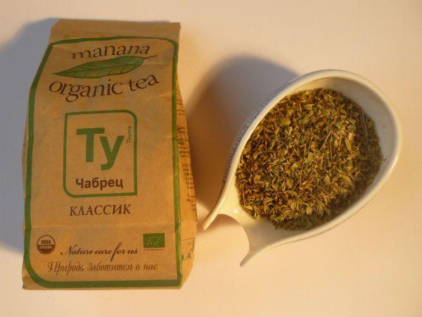 Чай из чебреца фото