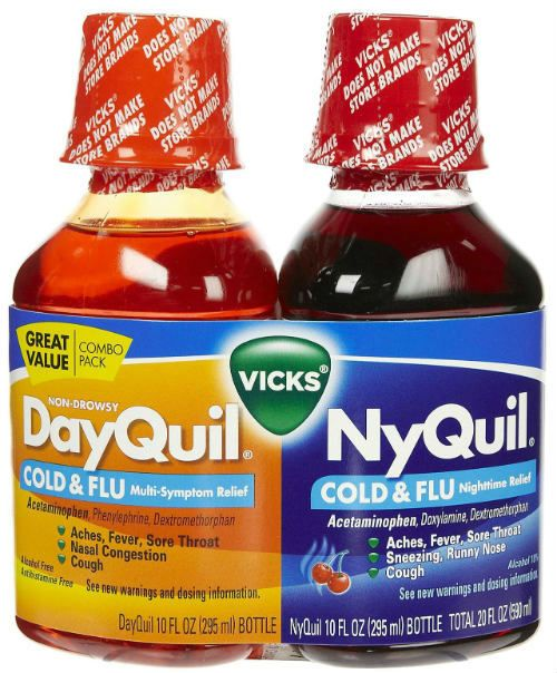 DayQuil NyQuil фото