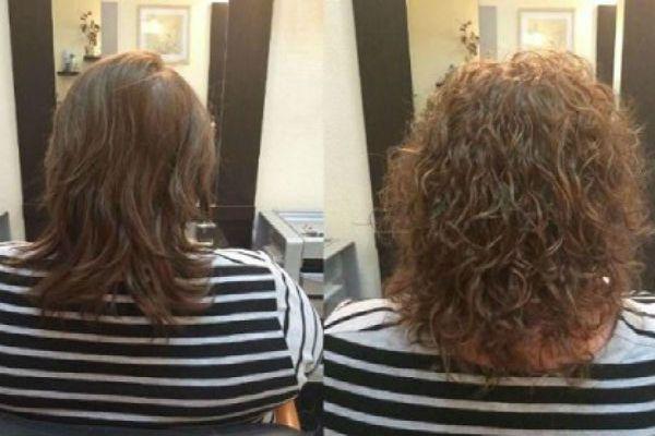 Карвинг на каштановые волосы фото