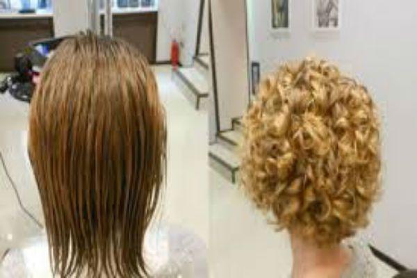 Карвинг коротких светлых волос фото