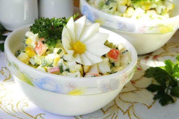 Крабовый салат фото