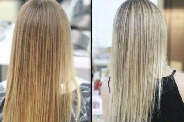 Холодный блонд фото