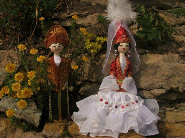 Куклы-казашки фото