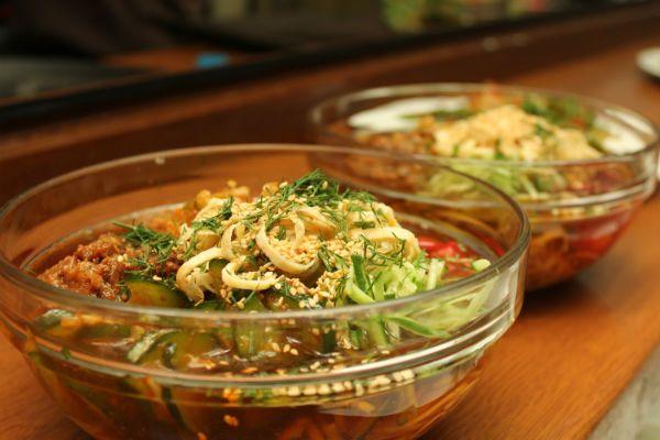 Кукси (корейский суп) фото