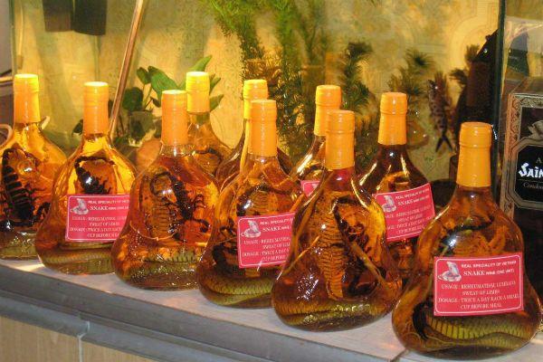 Настойка «Snake Wine» фото