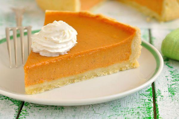 Пирог из тыквы фото