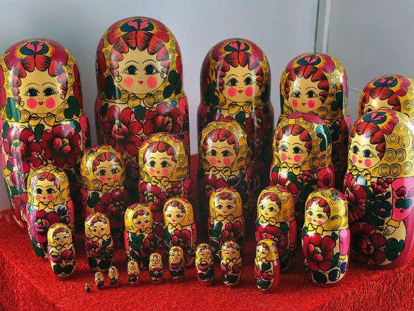 Полховско-майданская роспись фото