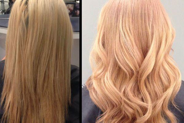 Нежный венецианский блонд фото