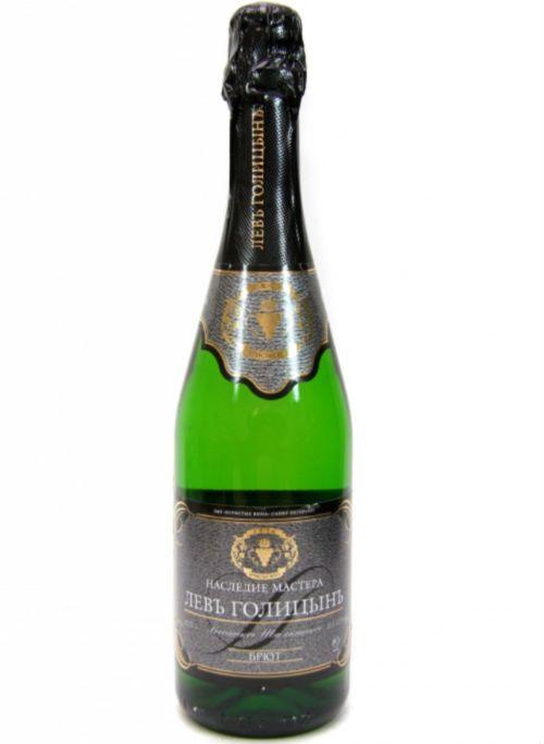 Шампанское «Левъ Голицынъ» фото