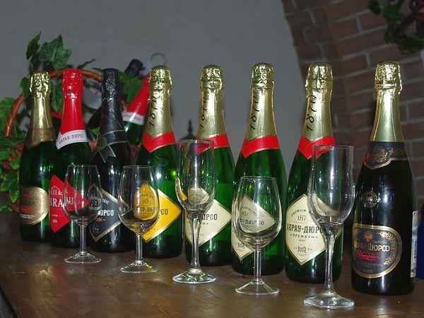 Шампанское Абрау-Дюрсо фото