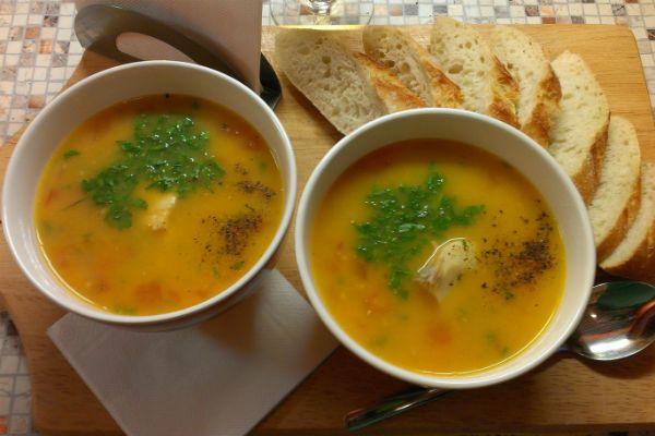 Суп из трески по-норвежски фото