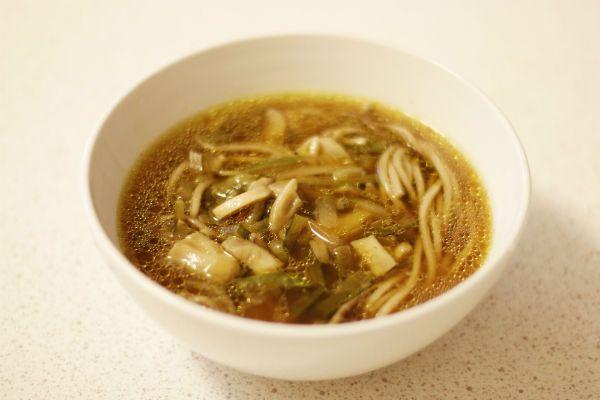 Суп с грибами по-китайски фото