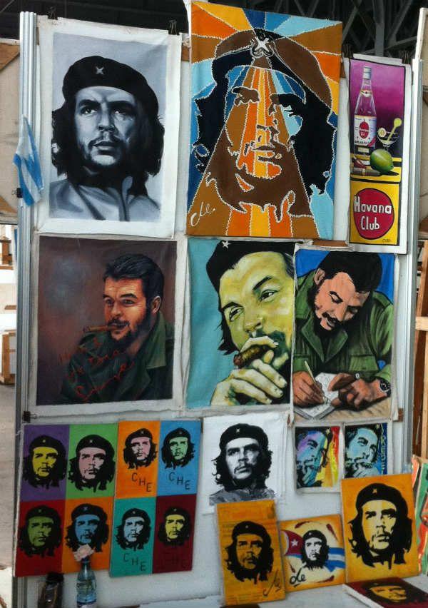 Сувениры с изображением Че Гевара фото