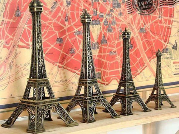 Сувениры в форме Эйфелевой башни фото