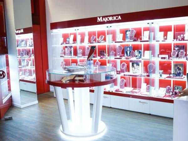 Ювелирные украшения «Majorica» фото