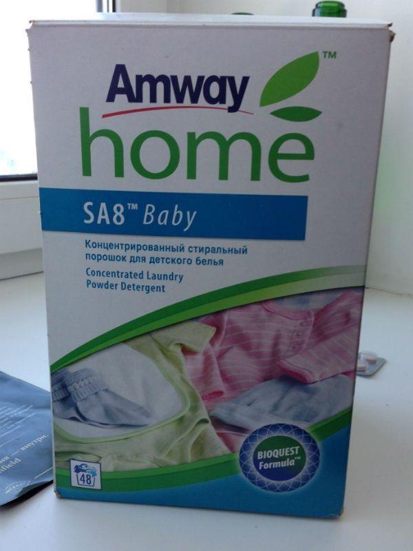 Порошок Amway baby фото