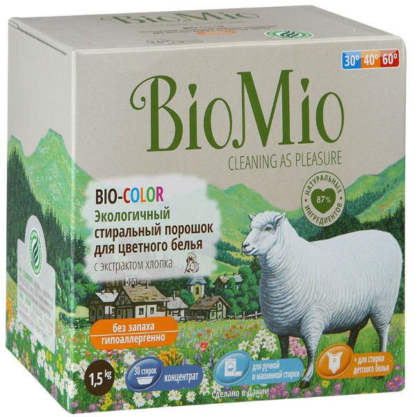 Порошок BIOMIO Color фото