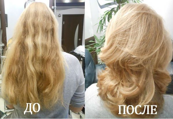 Мелирование на светлых волосах фото