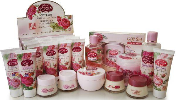 Косметика на основе розового масла фото