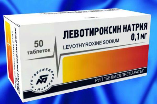 Левотироксин фото