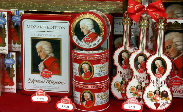 Конфеты «Mozart Kugeln» фото