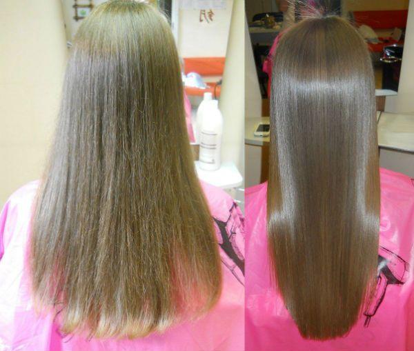 Пример ламинирования до и после фото
