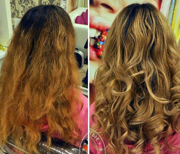 Мелирование для кудрявых волос фото
